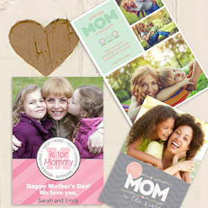 Mother's Day photo cards