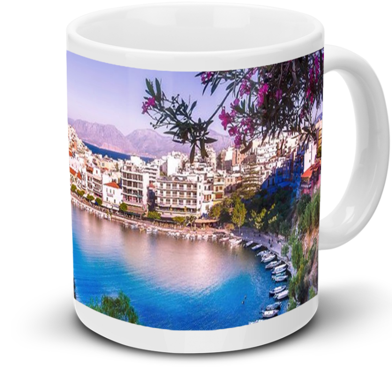 White Ceramic Mug - 11 oz.