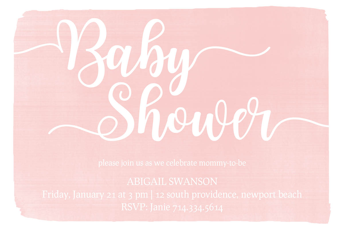 Sweet Shower - Pink